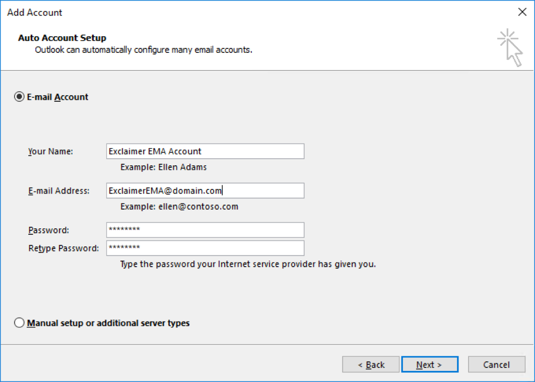 How to configure Outlook as your MAPI provider – Exclaimer Knowledge