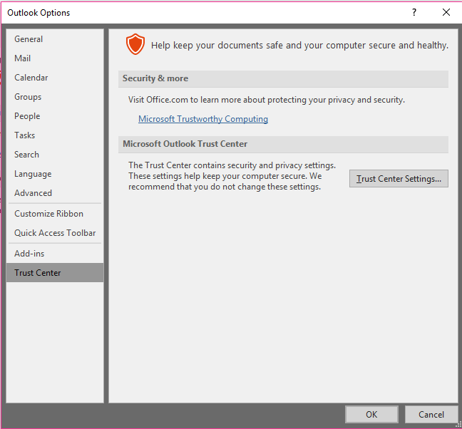 Outlook 365 Attachments Not Showing