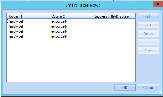 How to use a Custom Smart Table – Exclaimer Knowledge Base